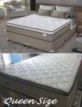 Cama Box (Box + Colchão) Queen Size Molas – Ensacadas/Pocket 63cm de Altura Plumatex Ilhéus