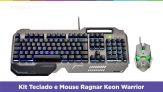 Kit Teclado e Mouse Gamer – Warrior Ragnar Keon