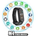 Relogio M4 Smartwatch Smartband Inteligente Medidor Cardíaco Esportes – Mjx
