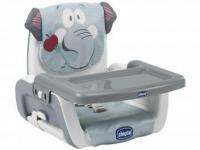 Cadeira de Alimentação Portátil Chicco – Mode Baby Elephant 3 Posições de Altura Cinza