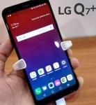 """Smartphone LG Q7+ 64GB Preto 4G Octa Core 4GB RAM – Tela 5,5"""" Câm. 16MP + Câm. Selfie 5MP Dual Chip Preto"""