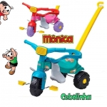 Triciclo Infantil Magic Toys Cebolinha – Haste Removível