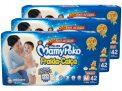 Kit Fraldas MamyPoko Calça Tam. M 7 a 10kg – 3 Pacotes com 42 Unidades Cada