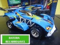 Carrinho de Controle Remoto Garagem SA 3546 – 7 Funções Candide