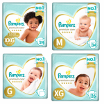 Kit Fraldas Pampers Premium Care