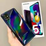 """Smartphone Samsung Galaxy A51 128GB Preto 4G – 4GB RAM 6,5"""" Câm. Quádrupla + Câm. Selfie 32MP"""