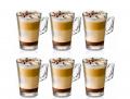 6 Copos Vidro Café Nespresso Dolce Gusto 150ml Lyor 6270