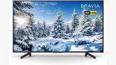 Smart Tv Led 55″ Sony Kd-55x705g Ultra Hd 4k Com Conversor Digital 3 Hdmi 3 Usb Wi-fi – Preta
